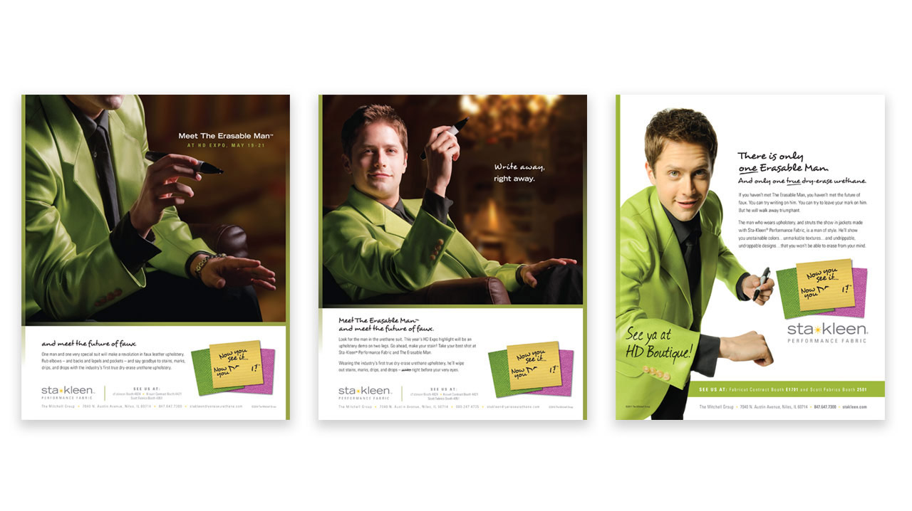 Sta-Kleen Performance Fabric Brand Positioning Case Study